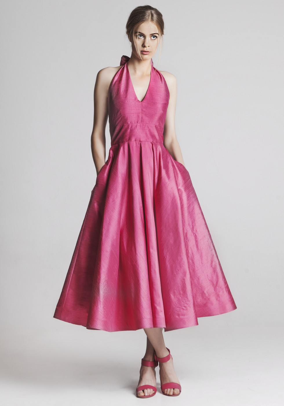 The Cannes Dress Magenta