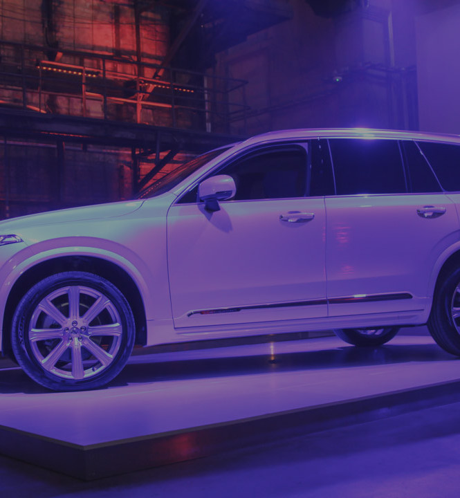 The launch of Volvo XC90